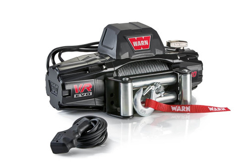 WARN VR EVO Series Winch 10,000lb with Steel Cable