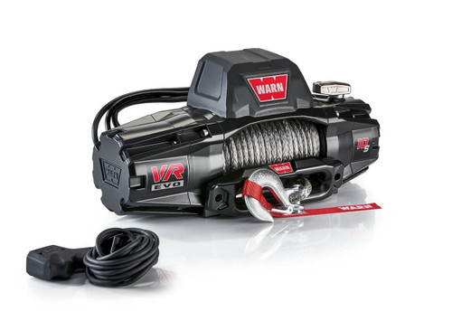 WARN VR EVO Series Winch 10,000lb with Synthetic Rope