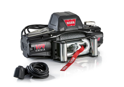 WARN VR EVO Series Winch 12,000lb with Steel Cable