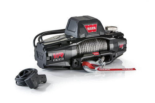 WARN VR EVO Series Winch 12,000lb with Synthetic Rope