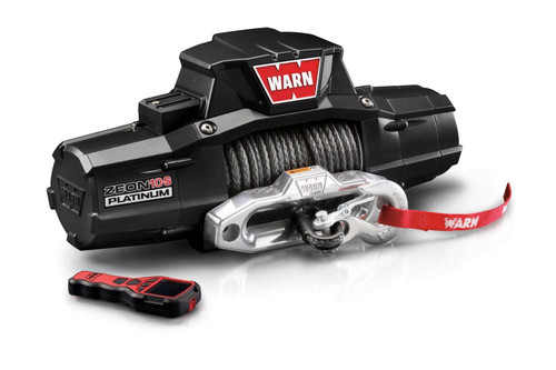 WARN ZEON 10-S Platinum™ Winch with Synthetic Rope