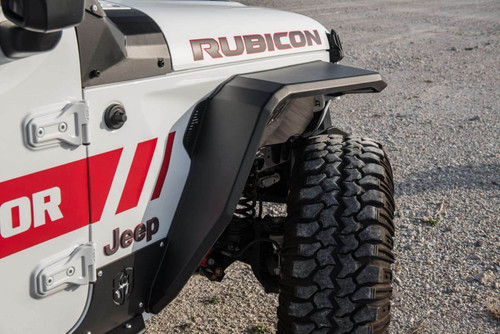 Road Armor Stealth Fenders with LED DRL