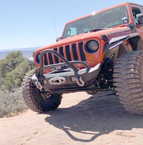 Road Armor Stealth Mid Width Front Winch Bumper W/Stinger