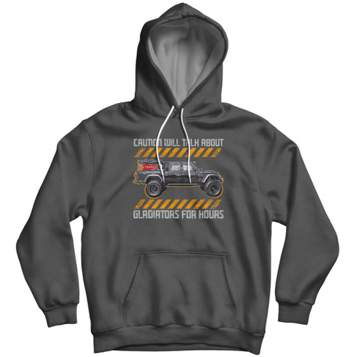 Caution Will Talk About Gladiators for Hours - Hoodie