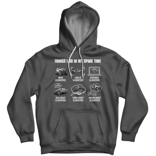 Things I Do In My Spare Time - Hoodie