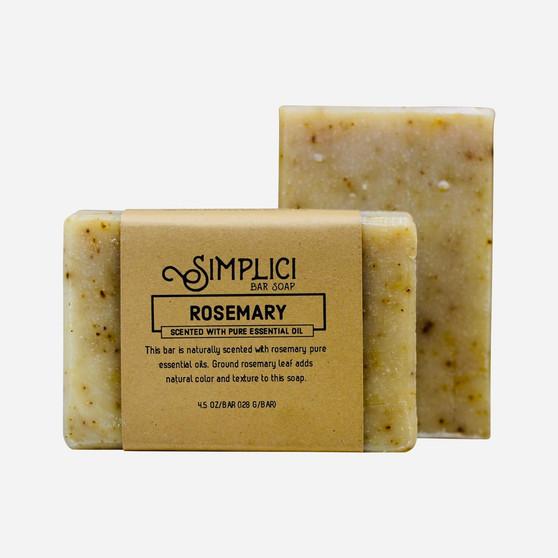 Simplici Rosemary Bar Soap