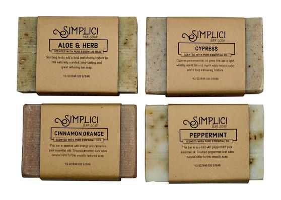 Bold Botanicals Soap 4-pack