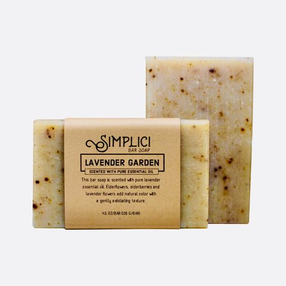 Simplici Lavender Garden Bar Soap
