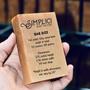 SIMPLICI Traditional Bar Soap & Recipe