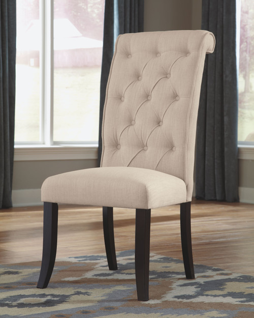 Tripton Linen Dining Upholstered Side Chair (Set of 2)