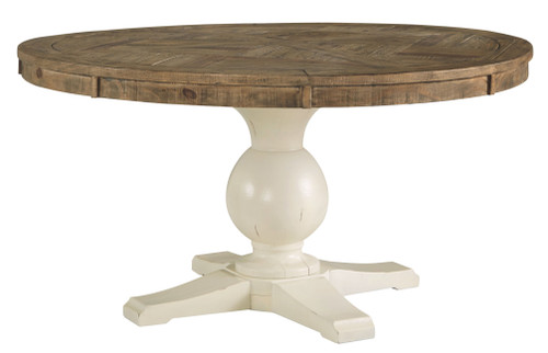 Grindleburg Light Brown Round Table