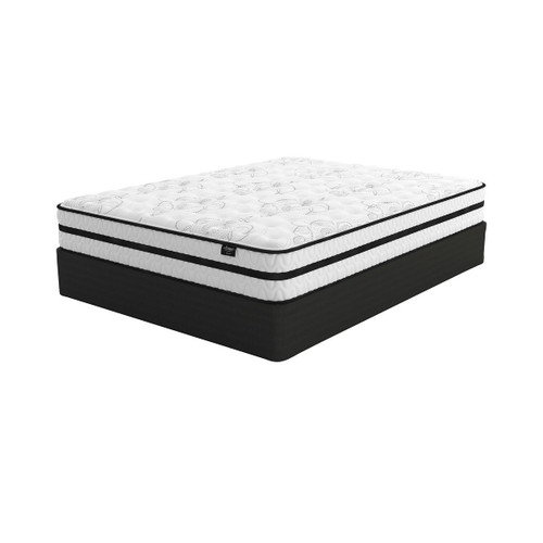 Chime 10 Inch Hybrid White Queen Mattress