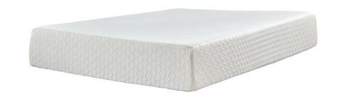 Chime 12 Inch Memory Foam White Twin Mattress