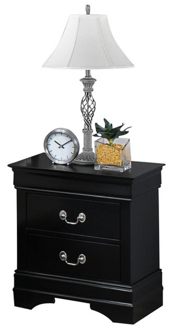 Louis Phillipe - Nightstand - Black