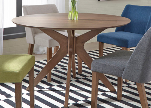 Space Savers Round Pedestal Table
