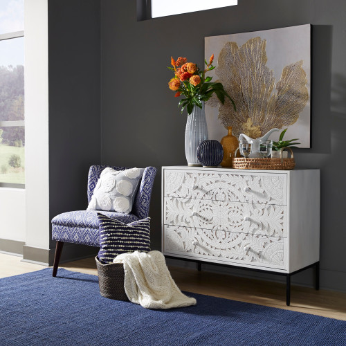 Woodlyn 3 Drawer Accent Cabinet
