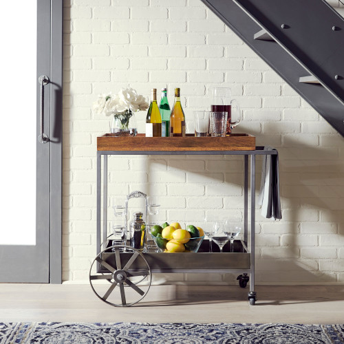 Raven Accent Bar Trolley