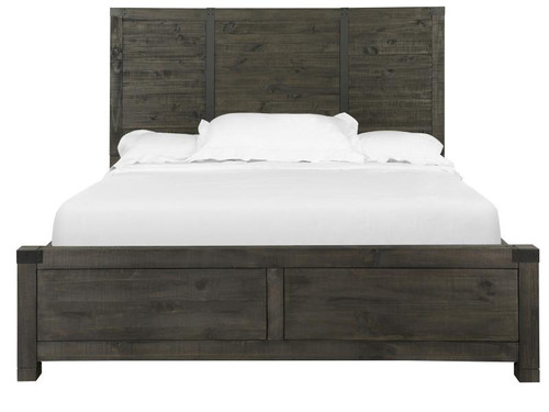 Abington Complete King Panel Bed