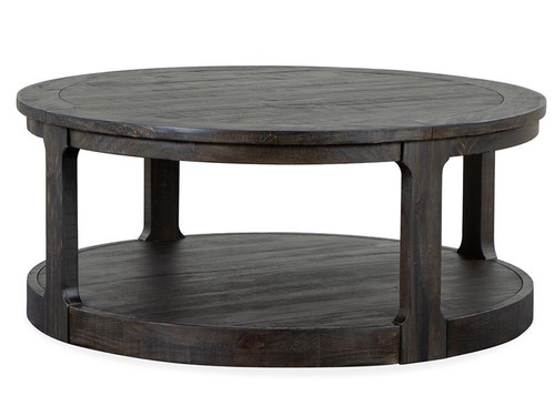 Boswell Round Cocktail Table w/Casters