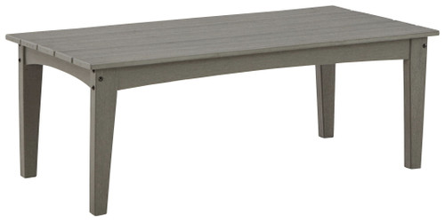 Visola Gray Rectangular Cocktail Table