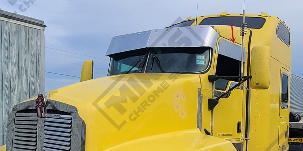 """W9L/800/600/660 8"""" ChopTop trim"""
