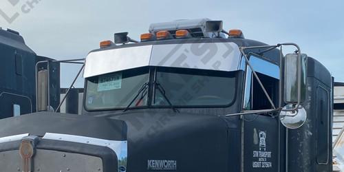 "Kenworth 11""-8.5"" Flat Glass Visor-Flat Windshield"