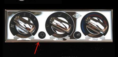 06+ SS PB AC Heater Control Pnl