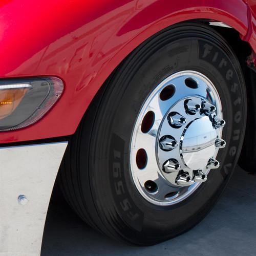 """1.5"""" cr frt dome axle - Push On"""