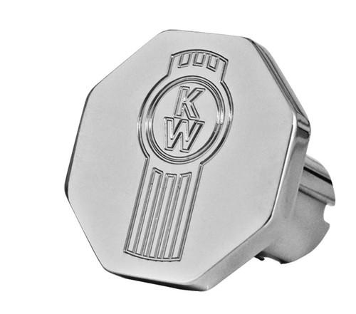 Single Octagon Brake Knob with Kenworth Logo
