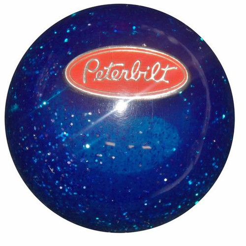 Round Shift Knob with Peterbilt Logo