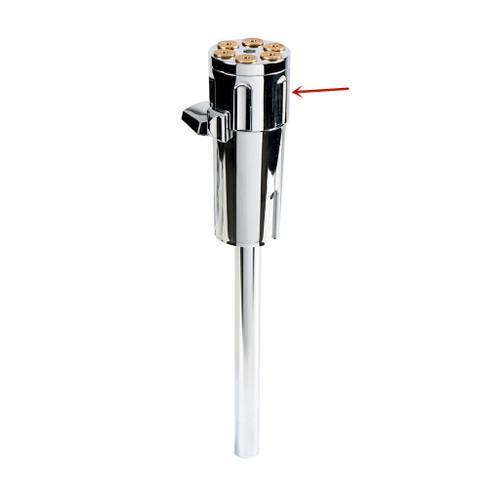 Chrome Gun Cylinder Gearshift Knob