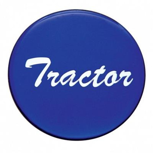 """""""Tractor"""" Glossy Air Valve Knob Sticker Only"""