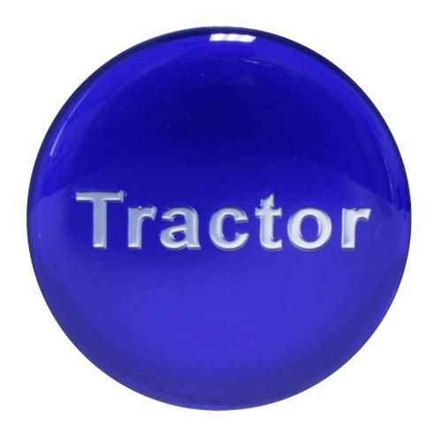 """Tractor"" Glossy Brake Knob Sticker"