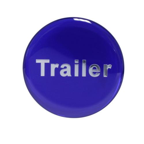 """Trailer"" Glossy Brake Knob Sticker"