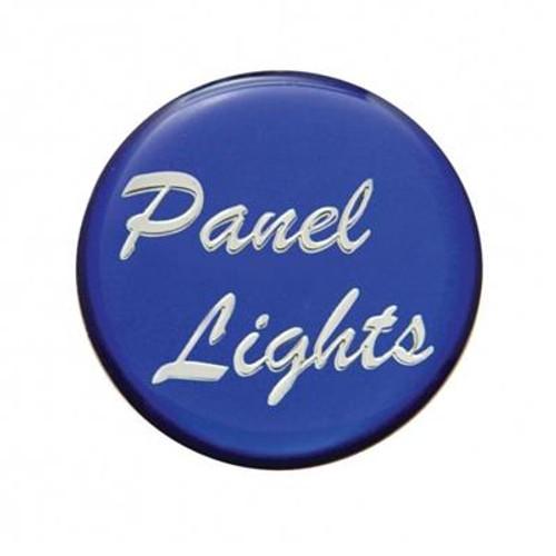 """Panel Lights"" Glossy Dash Knob Sticker Only"