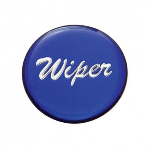 """Wiper"" Glossy Dash Knob Sticker Only"