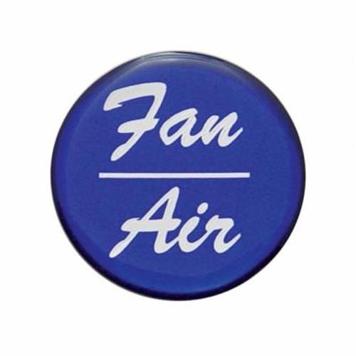 """Fan/Air"" Glossy Dash Knob Sticker Only"