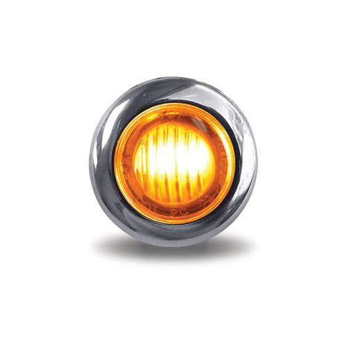"3/4"" round 3 LED Turn Signal and Maker Light"