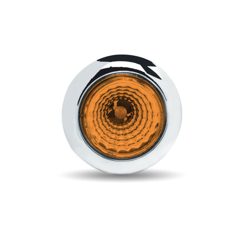 """3/4"""" Round 1 LED Twist On Marker Light with Reflector"""