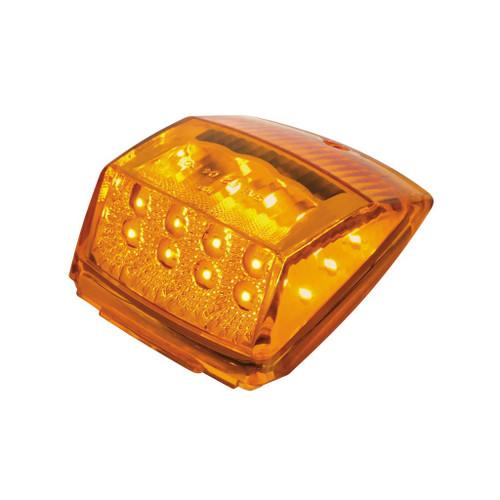 17 LED Reflector Square Amber Cab Light