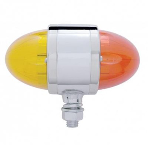 17 LED Dual Function Watermelon Double Face Pedestal Light with Reflector
