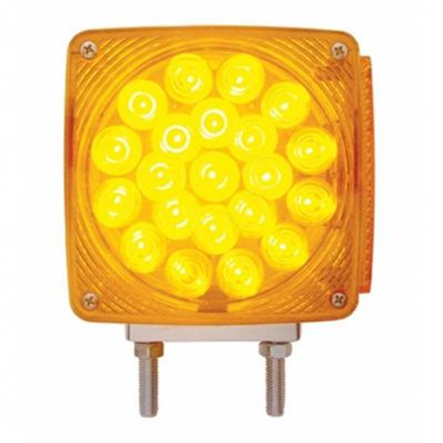 45 LED Double Stud Double Face Turn Signal Pedestal Light
