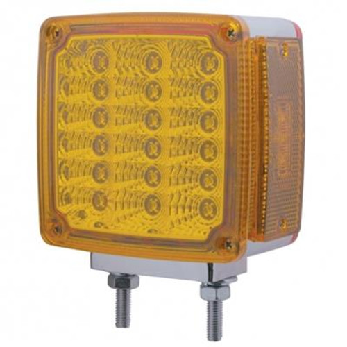 39 LED Reflector Double Face Pedestal Light with Turn Signal