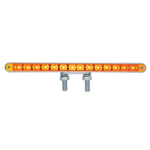 "14 LED 12"" Double Face Pedestal Light Bar"