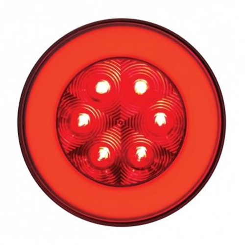 """21 LED 4"""" Red Stop, Turn & Tail Glo Light"""