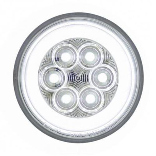Round or Oval White LED Glo Backup Light