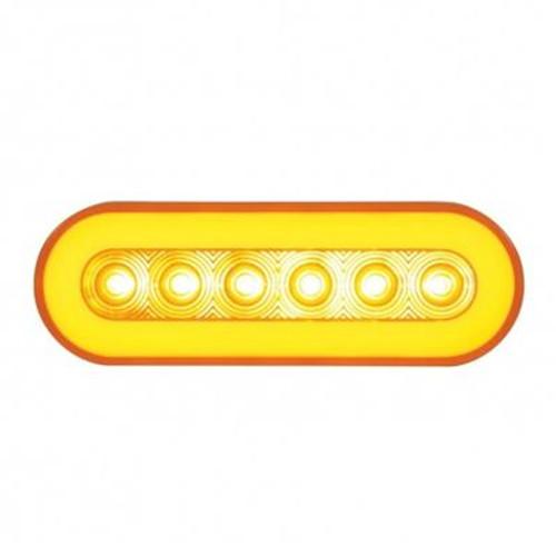 "22 LED 6"" Oval Stop, Turn & Tail Glo Light"