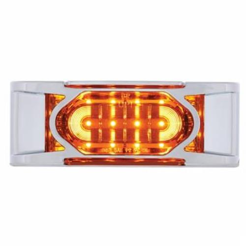 16 LED Reflector Marker Light with Chrome Bezel