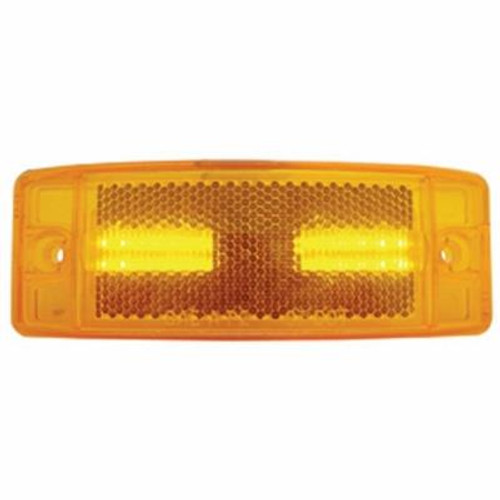 16 LED Rectangular Marker Light With Reflex Lens