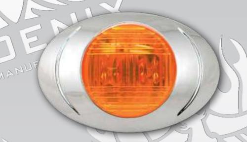 P3 Marker Light with Chrome Bezel